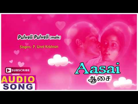 Aasai Tamil Movie Songs | Pulveli Pulveli Song | Ajith Kumar | Suvalakshmi | Deva | Music Master