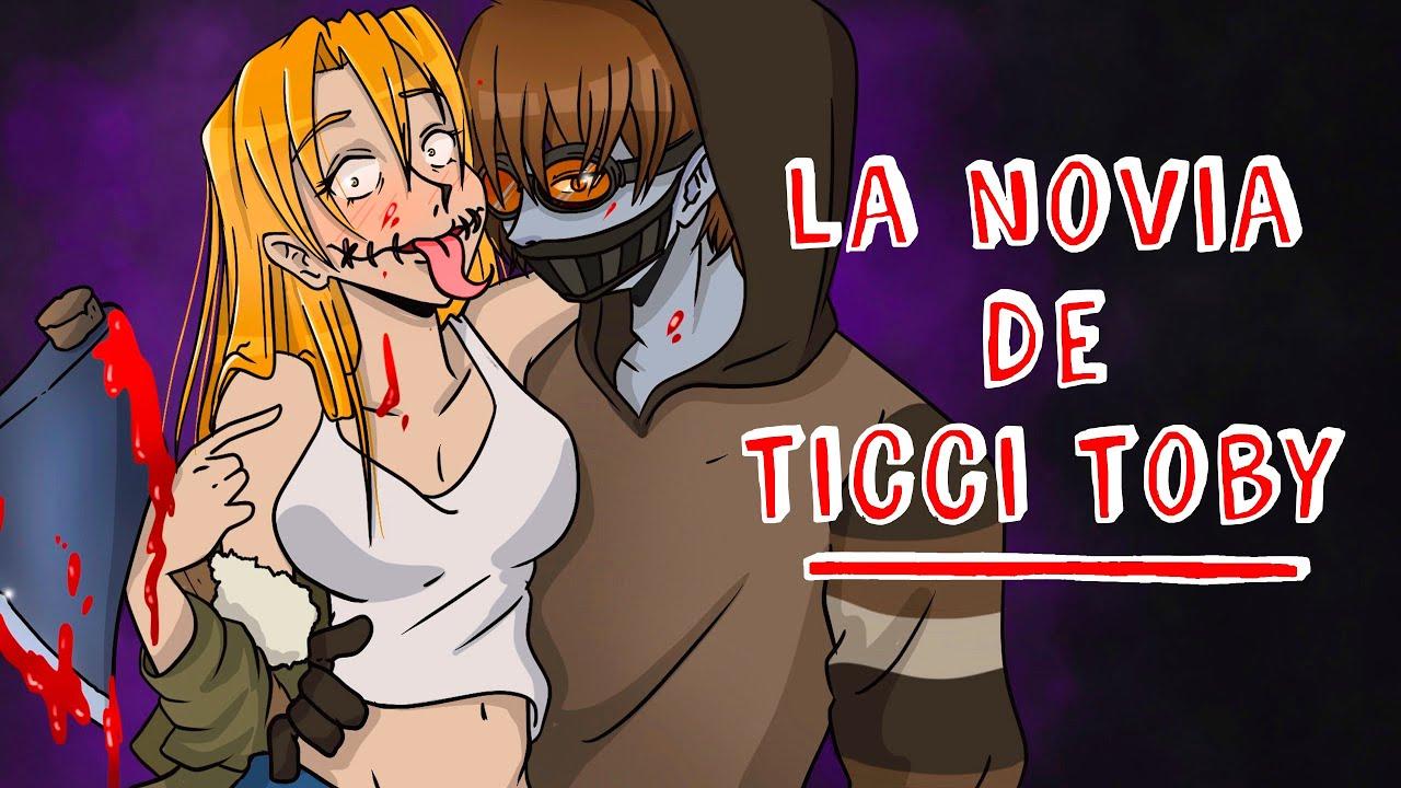 La novia de Ticci Toby 💘 Historia de Terror Draw My Life