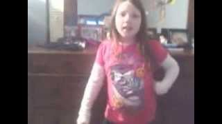 ASHLYNN SINGING TROUBLE BY TAYLOR SWIFT