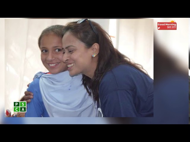 Ambassador of women players in Asia Rabia Qadir   PSCA TV Good Morning Safe City