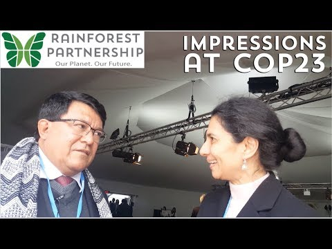 Interview with Victor Manuel Noreiga at COP23