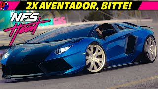 2x LAMBORGHINI AVENTADOR! | Need For Speed Heat Let's Play Deutsch #34 | NFS Heat 4K Gameplay German