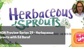 ENGN PS 29 - Herbaceous Sprouts with Ed Baraf
