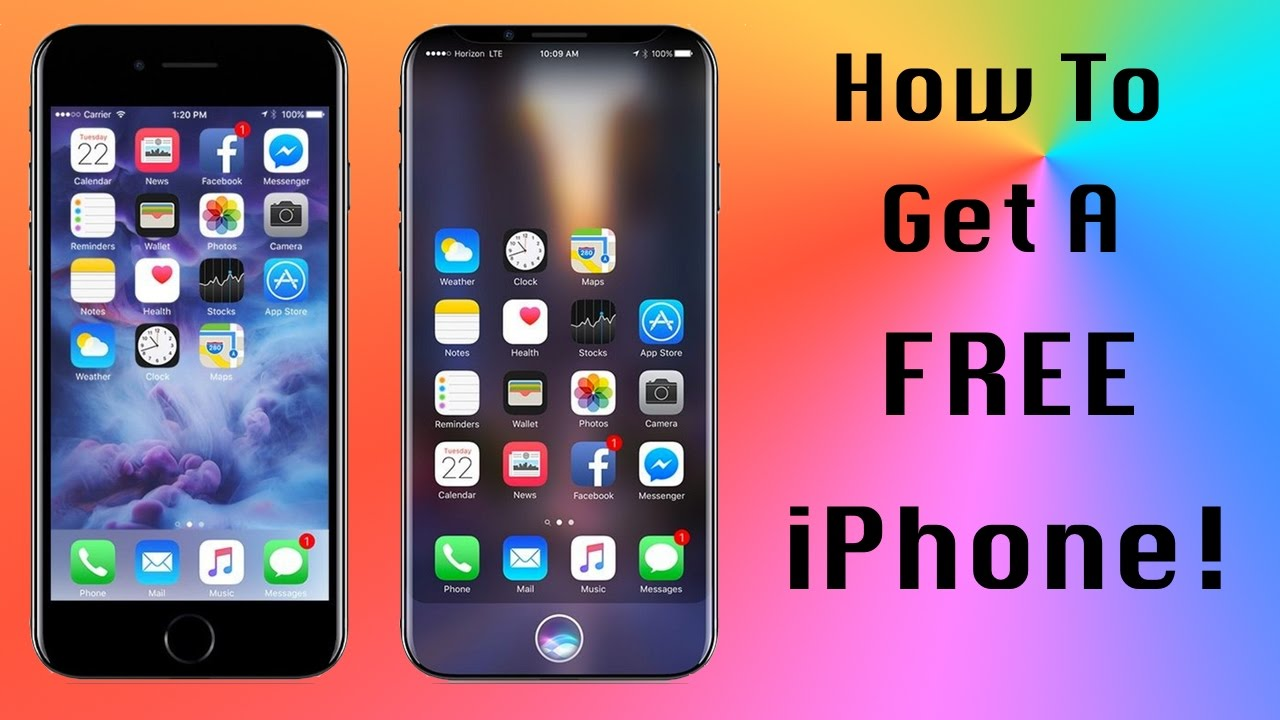 How To Get A Free Iphone No Contract 100 Legal