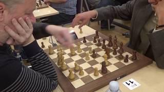 World chess champion GM Alexandr Khalifman - IM Rolands Berzins, Queen