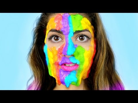 Thumbnail: DIY Rainbow Slime Peel Off Face Mask