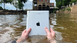 Download Found iPad Underwater While Searching Drained River! VR180 (River Treasure) Mp3 and Videos