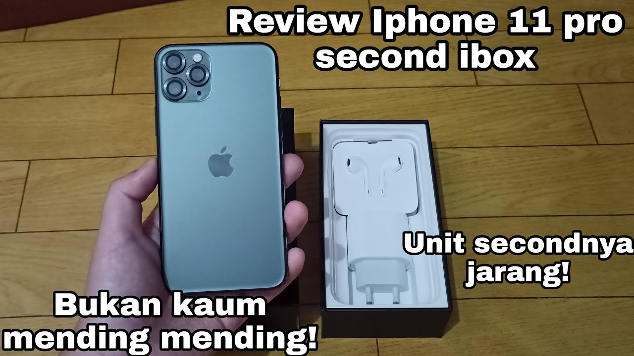 Review Iphone 11 pro second ibox 2021 indonesia - YouTube