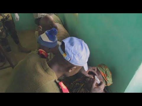 U.N peacekeepers in Mali provide free medical clinic in troubled region