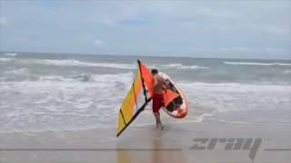 ZRAY Windsurfing Ultra light Sail instruction guide