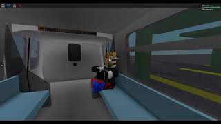 Roblox, The IRT Automated Metro Classic Version, Subway Ride Full journey from east to west station