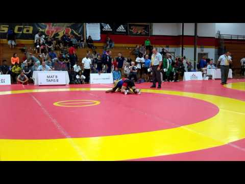 2015 Canada Cup: 53 kg Josee Tremblay (CAN) vs. Chelcie Armstrong (CAN)