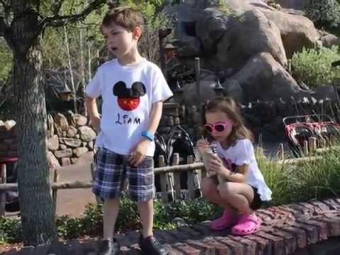 Disney Surprise Family Vacation April 2015