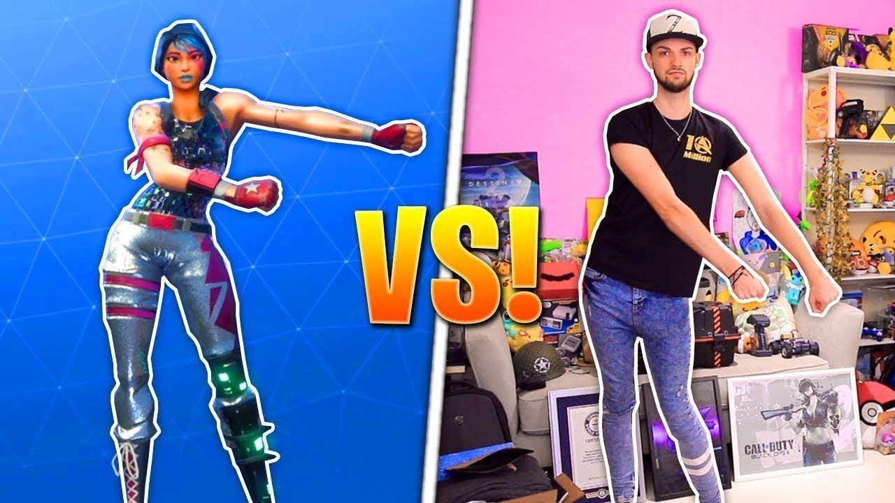 Ali A Does Real Life Dances For Fortnite Battle Royale The Floss