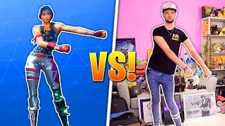 Ali-A Does REAL-LIFE Dances for Fortnite Battle Royale! (FORTNITE DANCES COMPILATION) ali a dancing