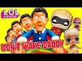 Incredibles 2 Don't Wake Daddy LOL Surprise Dolls Save Dash Game! Featuring Super BB and Funky QT!