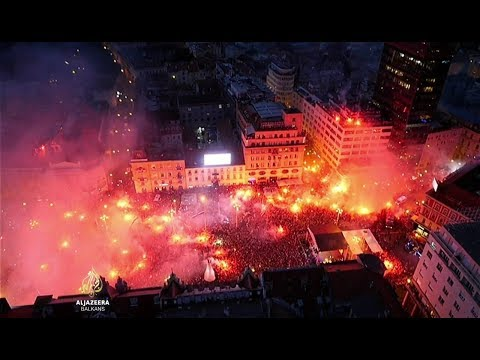 Neviđen doček za hrvatske nogometaše