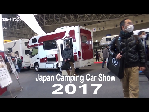 Japan Camping Car Show 2017 - Walk Over The Whole Show キャンピングカー