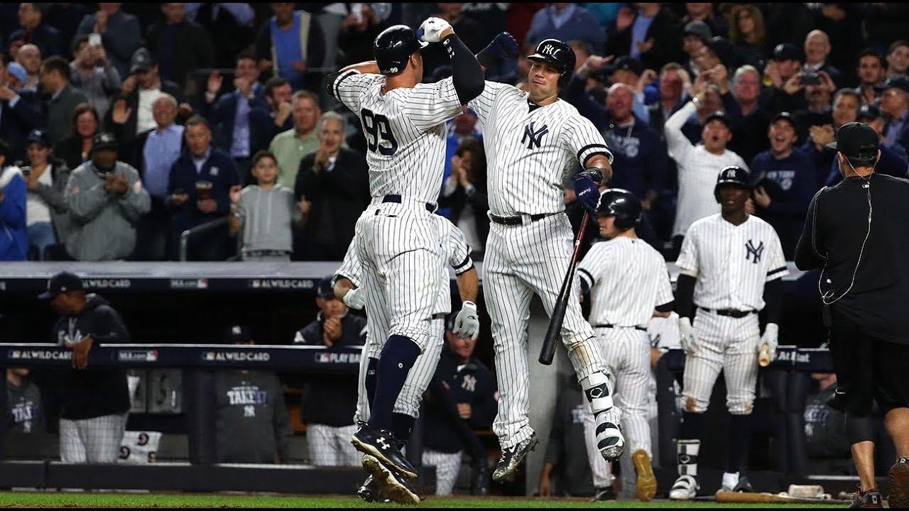 Yankees Postseason Highlights (2017-2018)