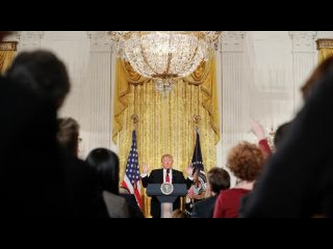 The media's role during Trump's presidency