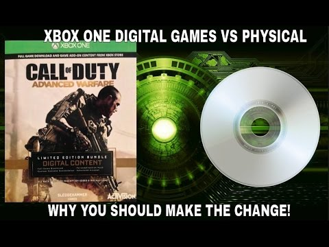 Xbox One Digital Games Vs Physical – why you should make the change - YouTube