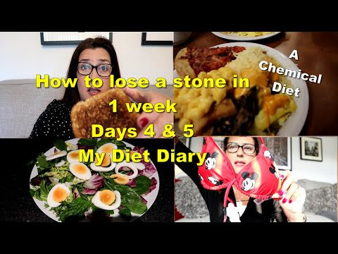how-to-lose-a-stone-in-1-week-/-days-4-&-5-/-my-diet-diary