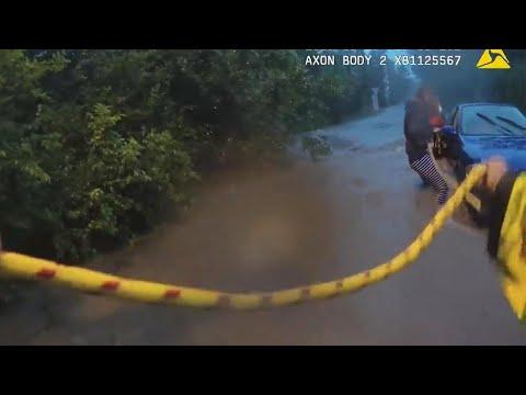 Corey Calhoun - Terrifying Rescue Underway After Massive Flood!