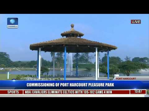 Commissioning Of Port Harcourt Pleasure Park Pt. 1