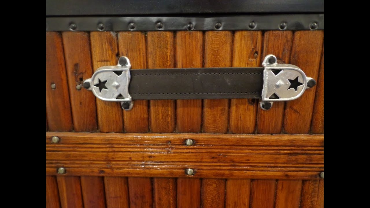 Replace Leather Handles On A Trunk