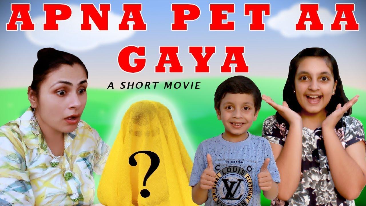 APNA PET AAYEGA Part 2 | Short Movie Funny Cute Pets Moral Story | Aayu and Pihu Show