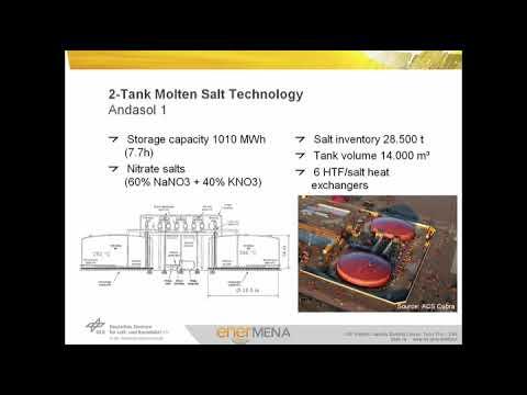 CSP Video Tutorial Unit 1-05 – Thermal Energy Storage