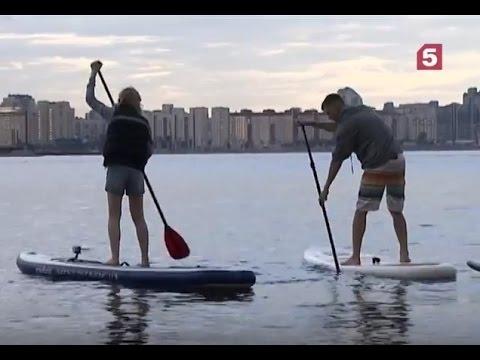 """САП-сёрфинг — сёрфинг с веслом. Красота и здоровье. """"Тело в дело!"""""""