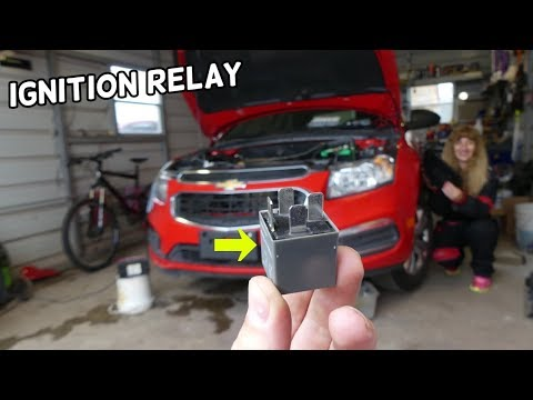 CHEVROLET CRUZE MAIN IGNITION RELAY LOCATION REPLACEMENT. CRUZE NOT STARTING