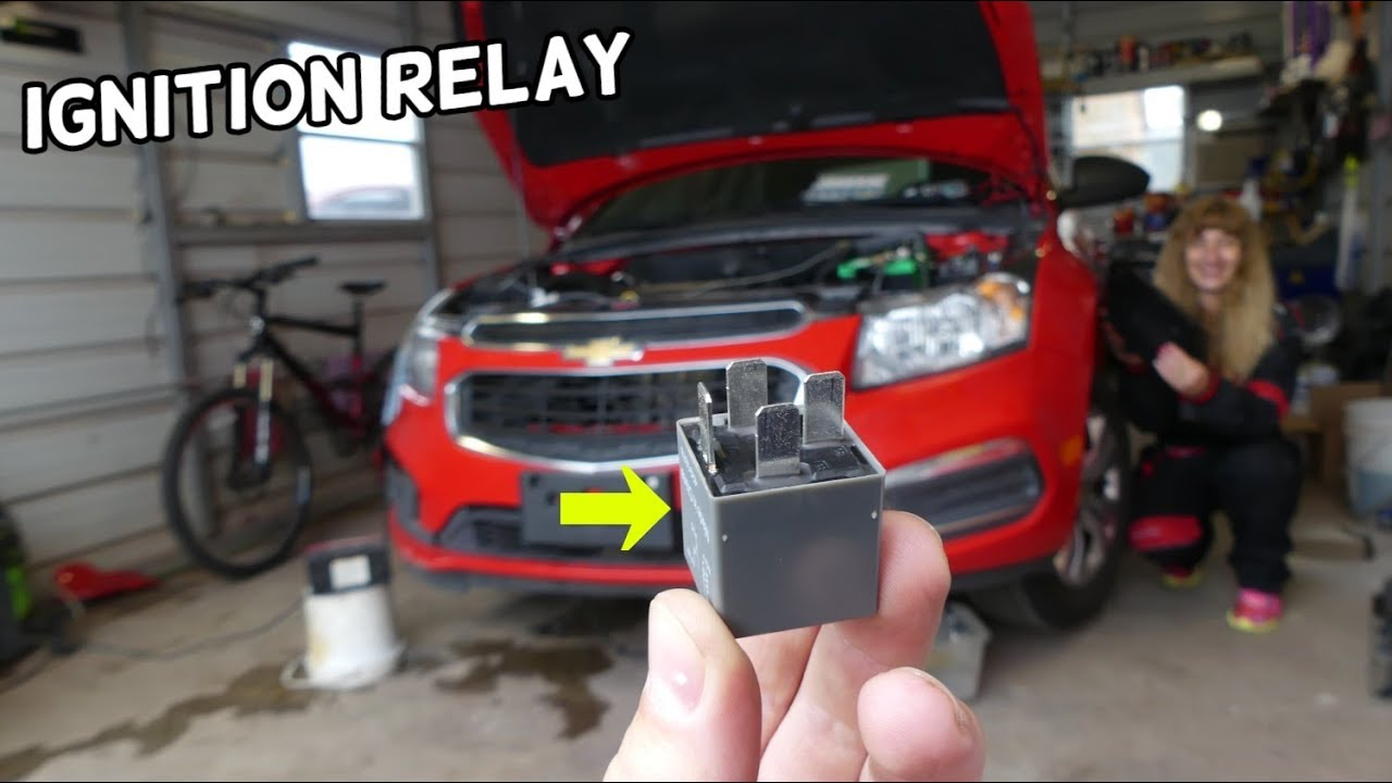 Chevrolet Cruze Main Ignition Relay Location Replacement Cruze