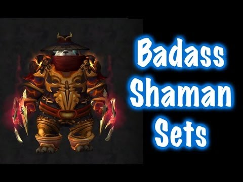 Extrêmement 10 Badass Male Shaman Transmog Sets #1 (World of Warcraft) - YouTube GK21