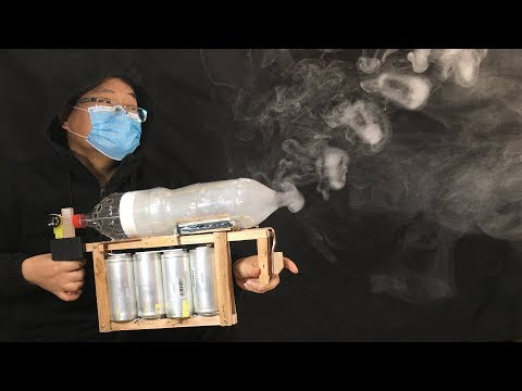Make A Vape Smoke Ring Machine Gun With Supercapacitors