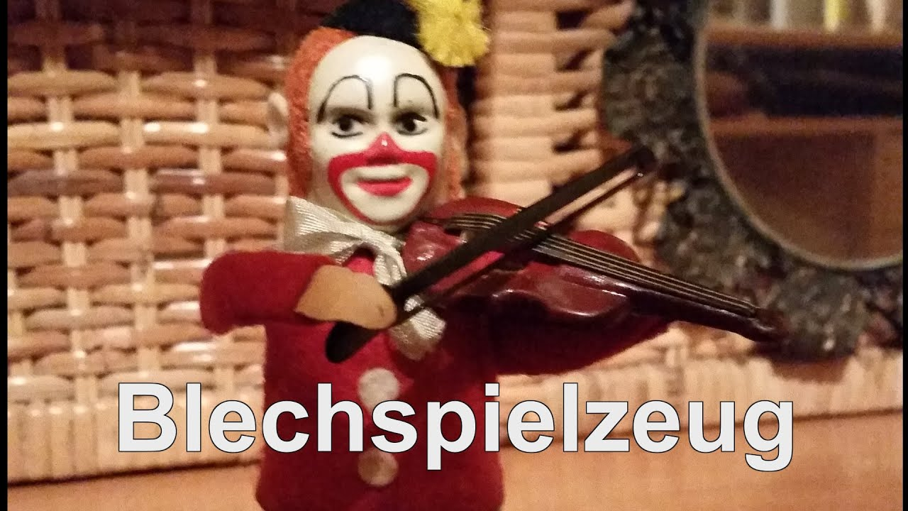 Toy Tin violinista Violinist Il Youtube The Blechspielzeug nk8wPX0O