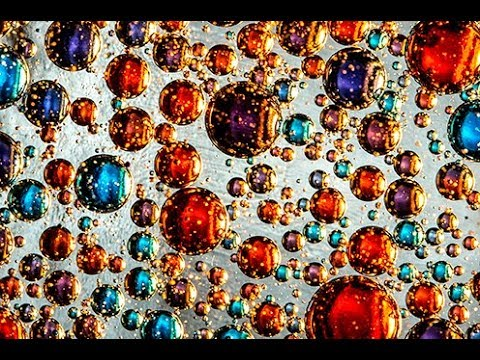 MACRO PHOTOGRAPHY TUTORIAL - Using Oil, Water & Food Coloring Creatively