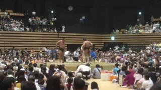 平成28年8月19日 函館アリーナ 大相撲函館場所 結びの一番.