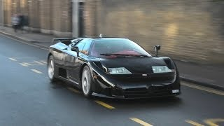 London SuperCars December 2018 - SVJ, EB110, 2x Chiron, TDF and More