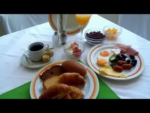 Sun Beach Hotel, Thessaloniki, Greece - The breakfast