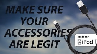 How to: verify your iPhone accessories are Apple certified!