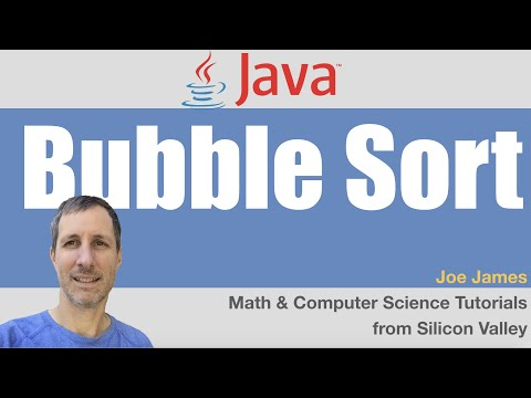 Java: BubbleSort algorithm