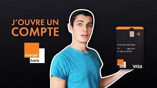 OrangeBank: J'OUVRE UN COMPTE, MON AVIS...