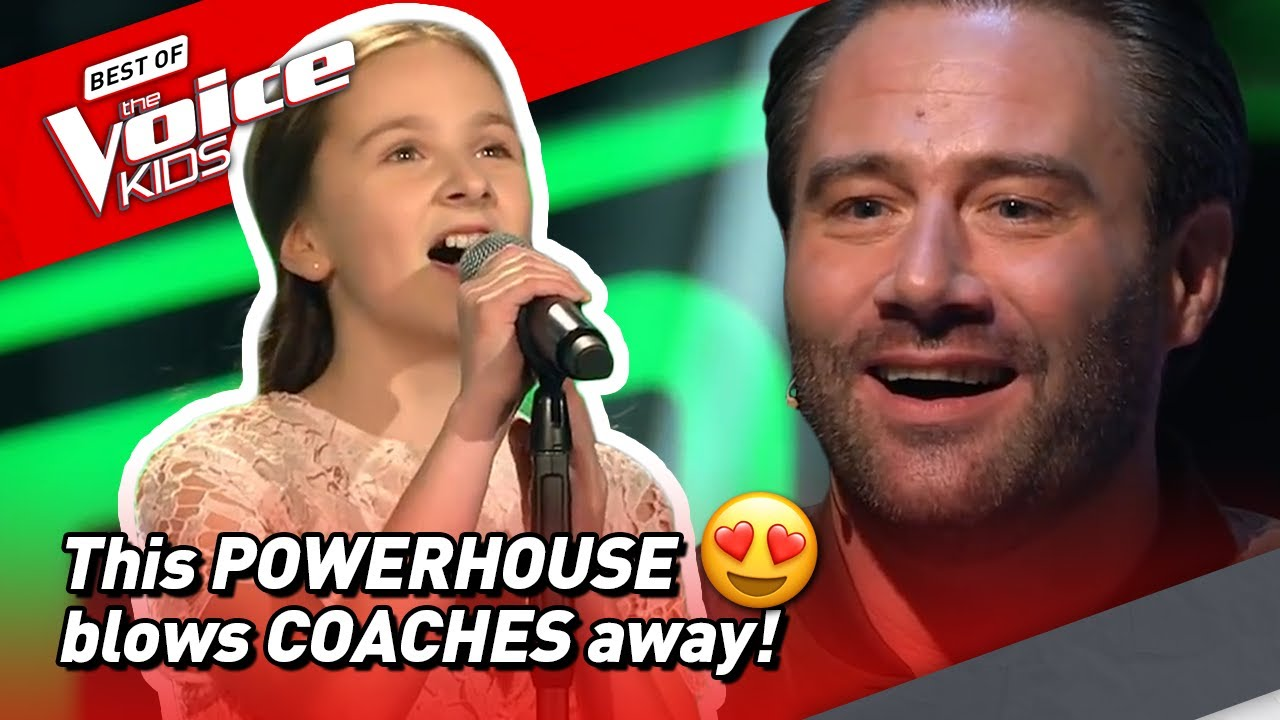 This 11 Year Old Powerhouse Won The Voice Kids In 2017 Youtube