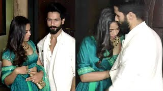 Shahid Kapoor Saves Wife Meera Rajput From OOPS Moment In Public