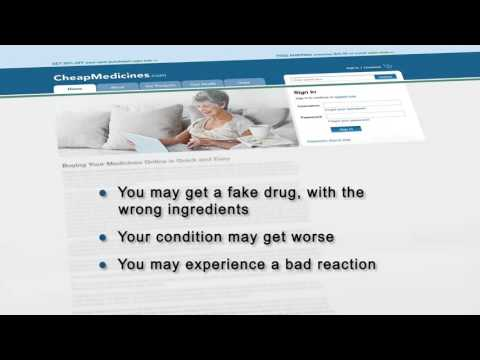 FDA Be Safe Rx PSA — Know Your Online Pharmacy