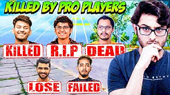 PUBG Streamers Killed by Pro Players - Dynamo, Mortal, Carry, Scout,  Kronten, Shreeman.