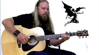 Black Sabbath Children Of The Sea Fingerstyle Cover