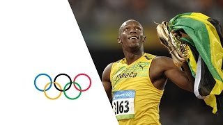 Usain Bolt Wins 100m/200m Gold - Beijing 2008 Olympics